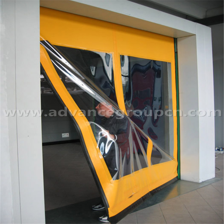 China Supplier Self Repair High Speed Door
